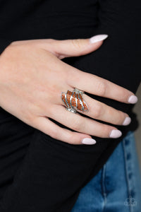 Paparazzi - Majestically Monte Carlo - Brown Ring - Classy Jewels by Linda