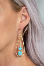 Load image into Gallery viewer, Paparazzi - Natural Nova - Gold Earrings - Classy Jewels by Linda