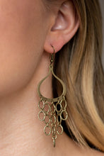Load image into Gallery viewer, Paparazzi - Total Net Revenue - Brass Earrings - Classy Jewels by Linda