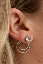 Load image into Gallery viewer, Paparazzi - Word Gets Around - White Earrings - Classy Jewels by Linda
