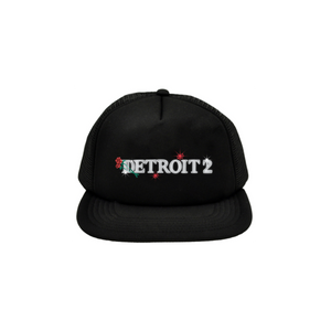 Detroit 2 Embroidered Trucker Hat + Digital Download-Big Sean