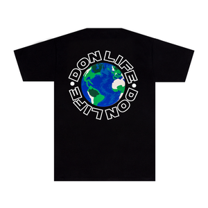 Don Life Black Tee-Big Sean