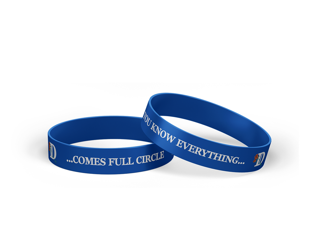 Full Circle Blue Wristband-Big Sean