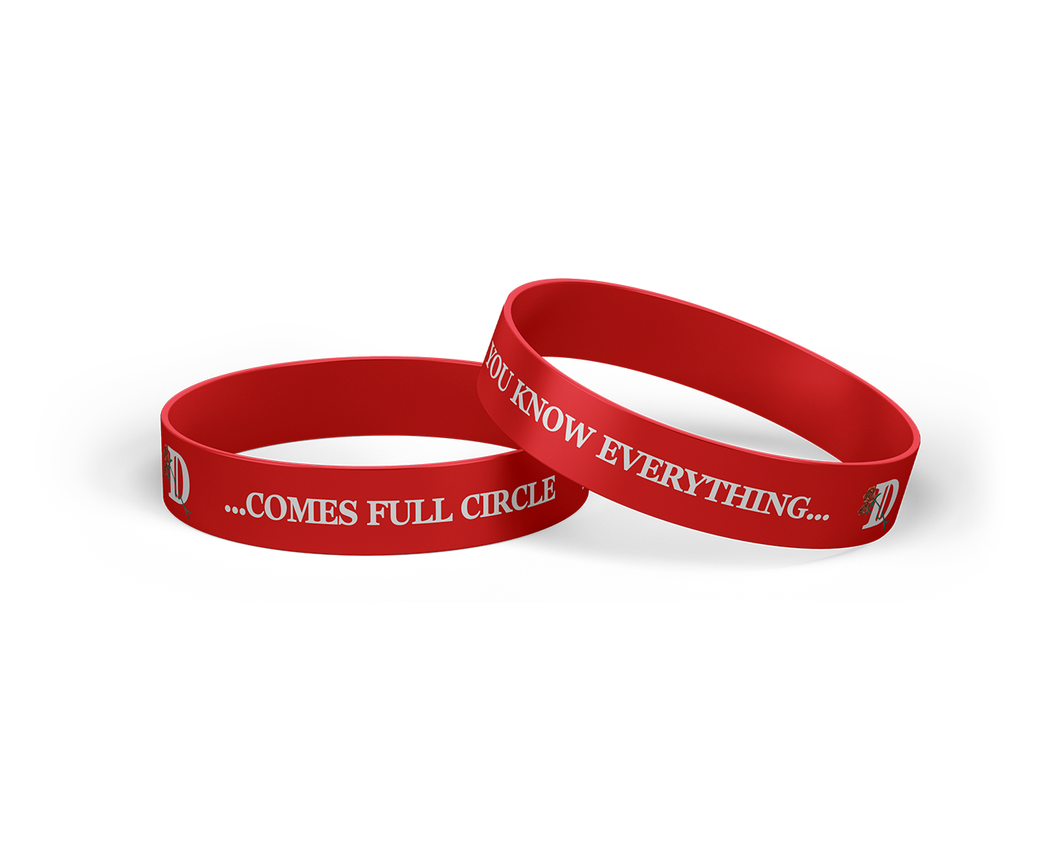 Full Circle Red Wristband-Big Sean
