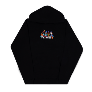 Detroit 2 Embroidered Drummer Hoodie + Digital Download-Big Sean
