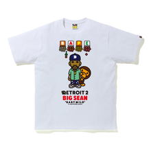 Load image into Gallery viewer, Detroit 2 X BAPE BABY MILO TEE
