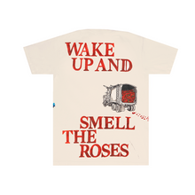 Load image into Gallery viewer, Wake Up And Smell The Roses Tee