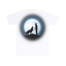 Load image into Gallery viewer, Wolves White Tee