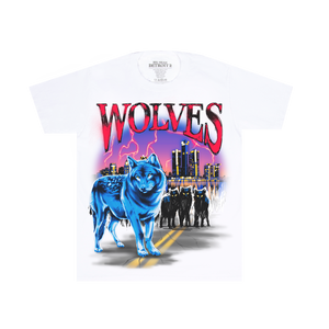 Wolves White Tee