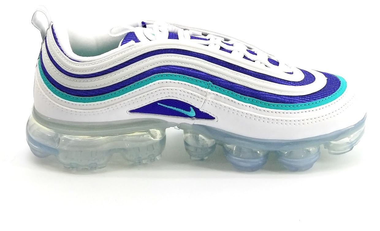 the latest cae63 654e1 Nike Air Vapormax 97 Gs 'White Indigo Burst' Boys / Girls ...