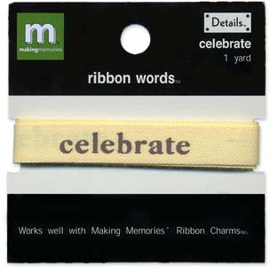 Ribbon Words - Celebrate