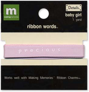 Ribbon Words - Baby Girl