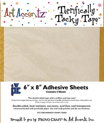 Art Accentz - Terrifically Tacky Tape Sheet