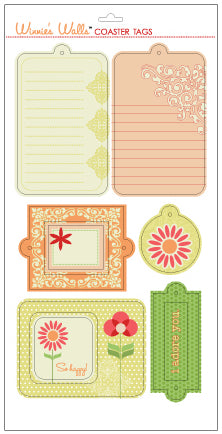 Winnies Walls Coaster Tags