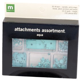 Attachment Assortment - Aqua
