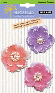 Jeweled Pastel Flowers