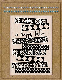 Card Art Happy Hello Kit