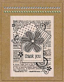 CardArt Flower Thank You Kit
