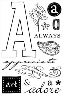 ClearDesigns for Stamping - A