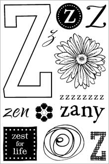 ClearDesigns for Stamping - Z