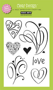 Clear Design Love Flourish