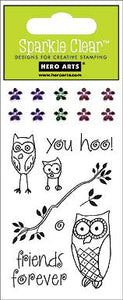 Sparkle Clear: You Hoo Owls