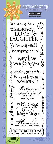 Clear Design: Card Message