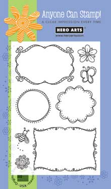 Clear Design Whimsical Frame