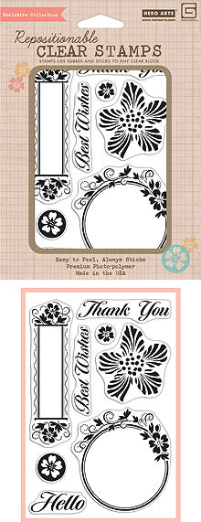 Hero Arts Luscious Frames Stamp