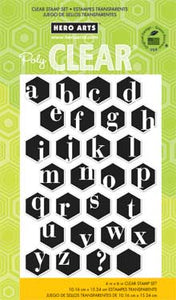 Alphabet Hexagons