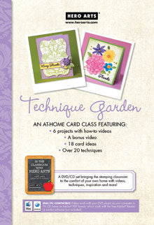 Technique Garden Video DVD
