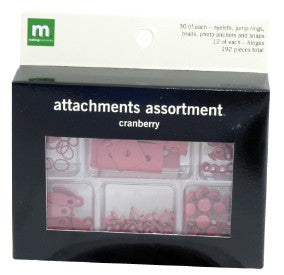 Attachment Assortment - Cranberry