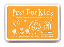 Just For Kids Orange Inkpad