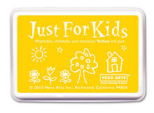 Just For Kids Yellow Inkpad