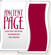 Ancient Page Ink Pad - Cardinal
