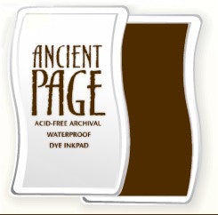 Ancient Page Ink Pad - Chocolate