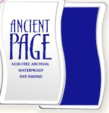 Ancient Page Ink Pad - Cobalt