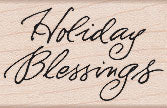 Holiday Blessings Greeting