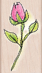 Stitched Rose