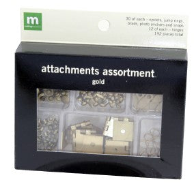 Attachment Assortment - Gold