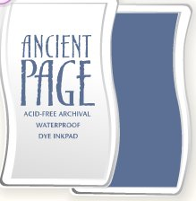 Ancient Page Ink Pad - Indigo