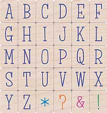 Sunny Uppercase Letters
