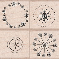 Dot Snowflake Design
