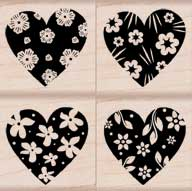 Design Accents: Patterned Hearts