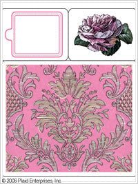 Anna Griffin Stamp Stacks - Rose Brocade and Tag