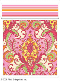 Anna Griffin Stamp Stacks - Margot Princess with Border
