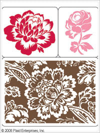 Anna Griffin Stamp Stacks - Sloane Batick and Flowers