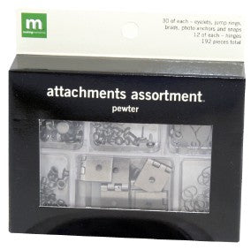 Attachment Assortment - Pewter