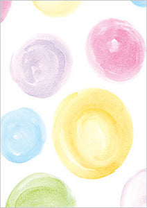 Watercolor Dots Cards