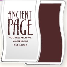 Ancient Page Ink Pad - Sienna